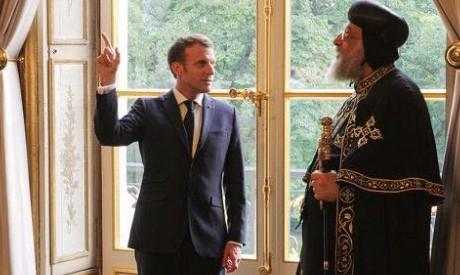 French President Macron, Egypt