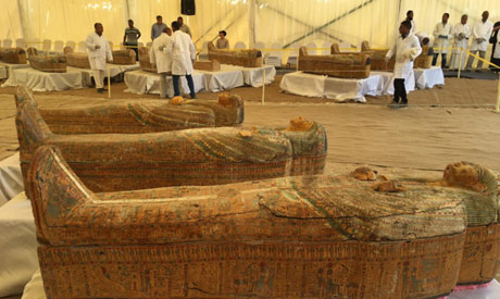 A 3,000-year-old cachette uncovered in Luxor - Ancient Egypt - Heritage - Ahram Online