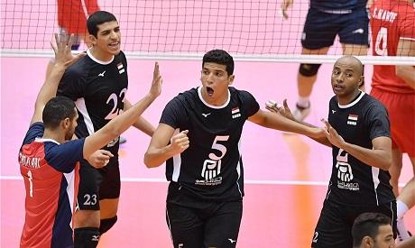 Egyptian Volleyball team