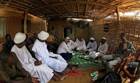 Darfur refugees camp