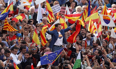 Spanish Unity Supporters