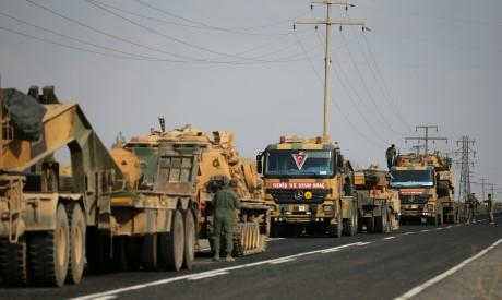 Turkish army vehicles