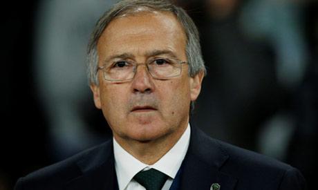 File photo: PFC Ludogorets Razgrad coach Georgi Dermendzhiev (Reuters)