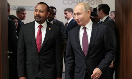 Russian President Vladimir Putin and Ethiopia