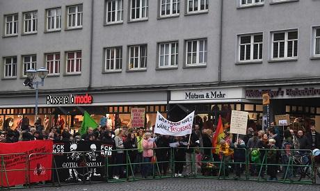 Demonstration in Germany