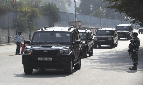 Guarding of a convoy of European Parliament members