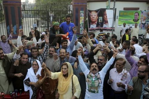Nawaz Sharif supporter