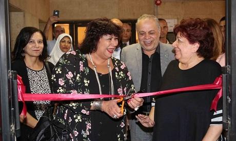 Minister Inas Abd El-Dayem