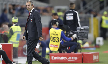Ac Milan Fire Coach Marco Giampaolo World Sports Ahram Online