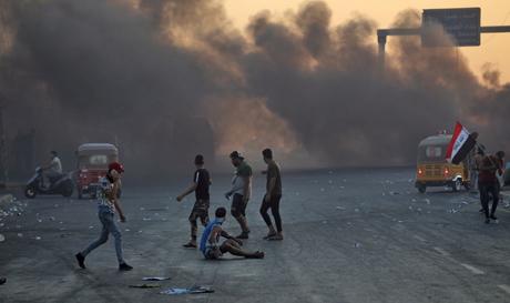 Containing Iraq's street movement