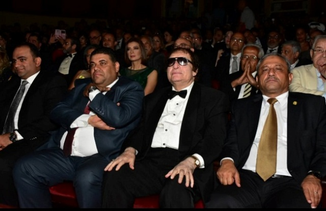 Mohie Ismail at the 35th Alexandria Film Festival