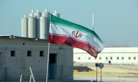 Iranian flag in Iran