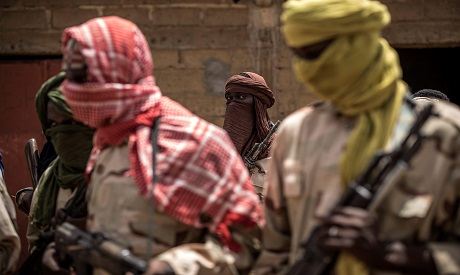 Fulani militiamen