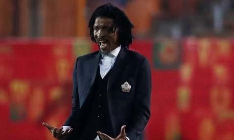 Cameroon coach Rigobert Song (Reuters)