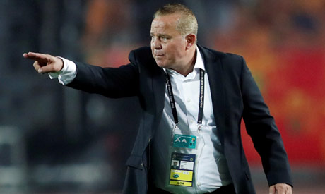 Egypt coach Shawky Gharib (Reuters)