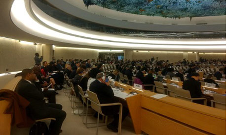 Report on Egypt session at UNHRC
