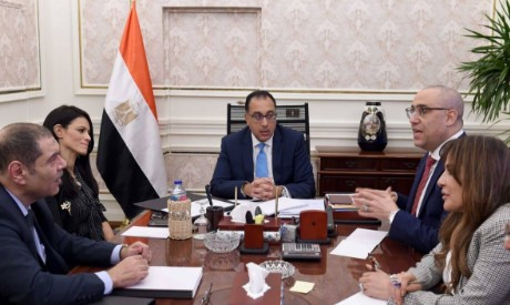 Egypt PM Madbouly, Tourism minister Mashat