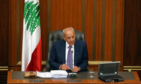 Lebanese Parliament Speaker Nabih Berri