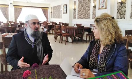 Abdel-Rahman interviewing Taliban's Aga Khan