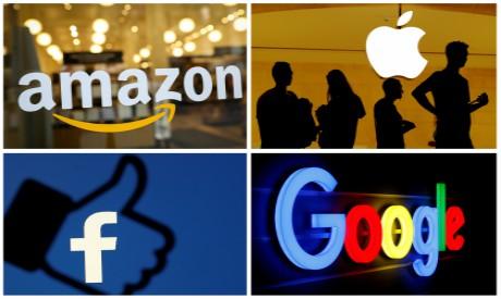 Amazon, Apple, Facebook and Google