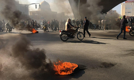 Political costs of the Iranian protests