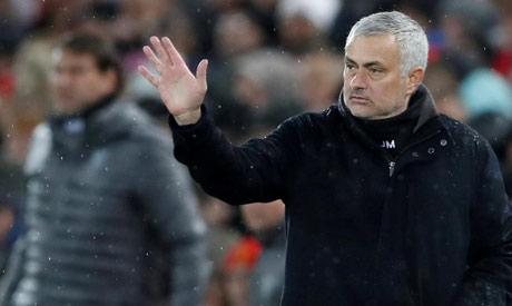 Manchester United former manager Jose Mourinho (Reuters)