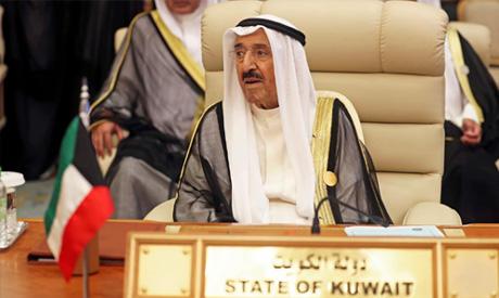 Kuwaiti Emir Sheikh Sabah al-Ahmad al-Jaber al-Sabah is seen during the Arab summit in Mecca, Saudi