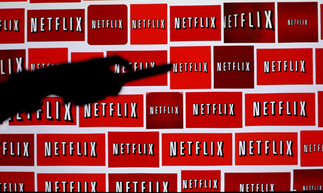 FILE PHOTO: The Netflix logo is shown in this illustration photograph in Encinitas, California Octob