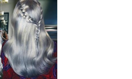 Platinum sliver blonde: