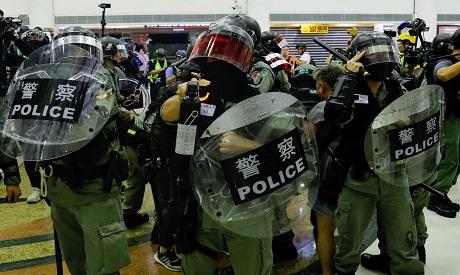 Hong Kong police