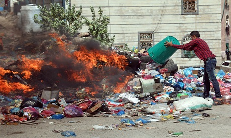 Garbage in Taaz