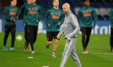 Ajax coach Erik ten Hag (Reuters)