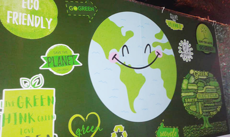 Go Green and Save the Planet