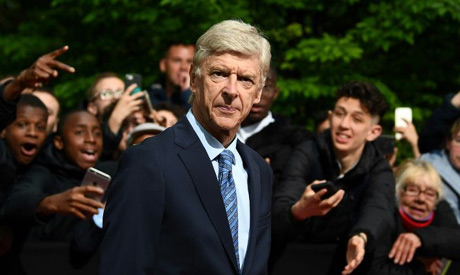 Wenger evasive when tackled over Bayern job (AFP)