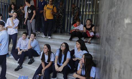 Lebanese high school students