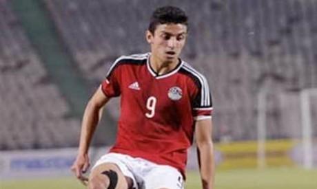 Contractors winger Taher Mohamed (Al-Ahram)