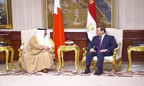 Sisi and Al Khalifa