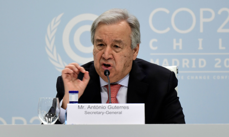 UN Secretary-General Antonio Guterres