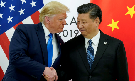 U.S. President Donald Trump and China