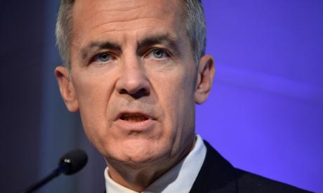 Governor of the Bank of England Mark Joseph Carney