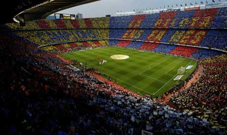 Camp Nou is the home of FC Barcelona and the largest stadium in Europe (AFP)