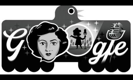 Google Doodle celebrates Iraqi singer Affifa Iskandar