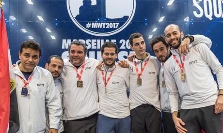 Egypt's Squash team