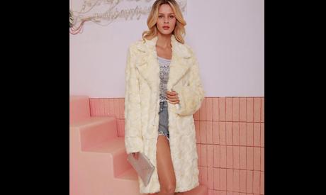Fur and faux fur coats