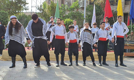 A folk dance show from Palestine    Photo courtesy of the Faculty of Information