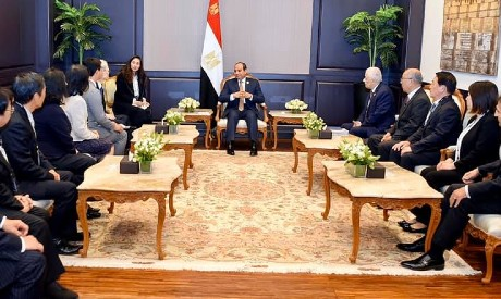 Sisi with Japanese experts