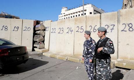 Lebanese policemen