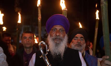 Indians participate