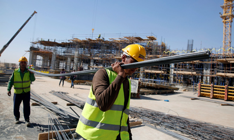 Work continues around The New Administrative Capital