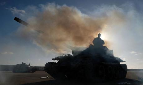 Libya sinks backwards